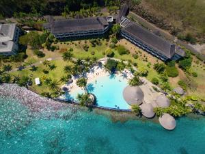 A bird's-eye view of InterContinental Tahiti Resort & Spa