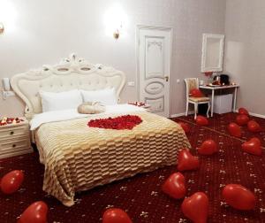 Кровать или кровати в номере Отель The Kempf