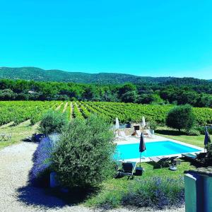 The swimming pool at or near Maison d'hôtes Bastide St Victor