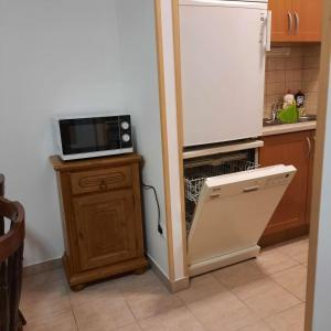 A kitchen or kitchenette at Apartment Golf
