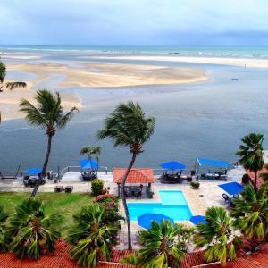 Uma vista da piscina em Pousada Villa do Sol ou nos arredores
