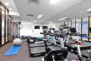 The fitness center and/or fitness facilities at Pegasus Apart-Hotel