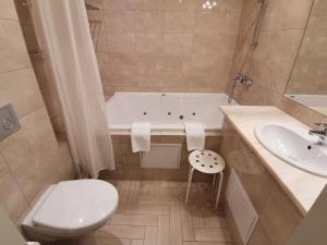 Ванная комната в Отель История