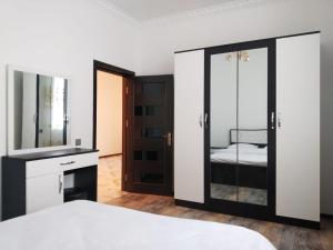 Cama ou camas em um quarto em Villa SUPER