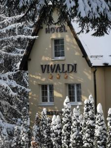 Hotel Vivaldi during the winter
