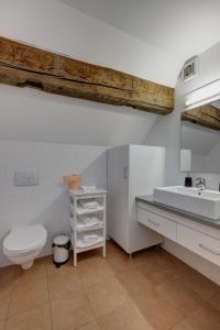 A bathroom at Max Apartments Sibiu