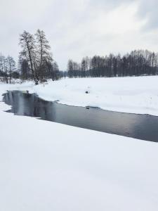 Obiekt Bojarski Gościniec zimą