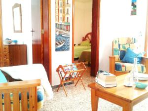 A seating area at House with 3 bedrooms in El Golfo Lanzarote with terrace and WiFi 500 m from the beach
