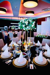 Restauracja lub miejsce do jedzenia w obiekcie Hotel Modus