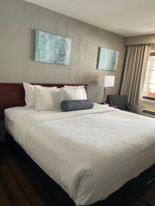 A bed or beds in a room at Best Western Woodbury Inn