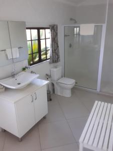 A bathroom at St Lucia Eco Lodge
