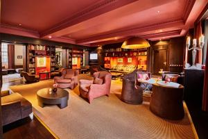 The lounge or bar area at Sofitel Legend The Grand Amsterdam