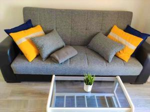 A seating area at Eldorado Apartment La Mata