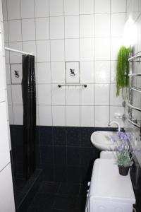 Ванная комната в Апартаменты на Демократической