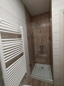 A bathroom at La Lancha
