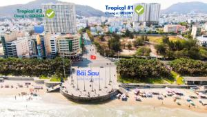A bird's-eye view of Tropical House Vung Tau- Melody Apartment
