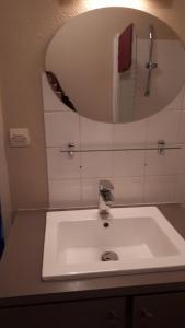 A bathroom at Appartement Le Casino