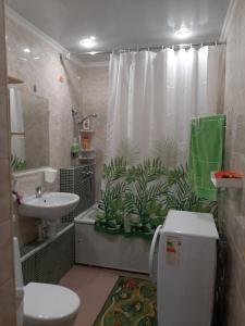 Ванная комната в 2х комнатная комфортная квартира