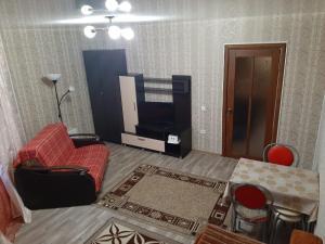 Гостиная зона в 2х комнатная комфортная квартира