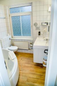 Ein Badezimmer in der Unterkunft Waldhotel Friedrichroda