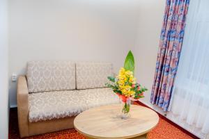 Ein Sitzbereich in der Unterkunft Waldhotel Friedrichroda
