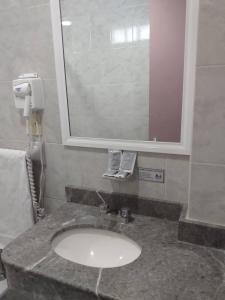 A bathroom at Hotel Cuba