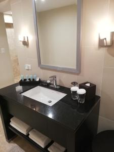 A bathroom at Crowne Plaza San Salvador, an IHG Hotel