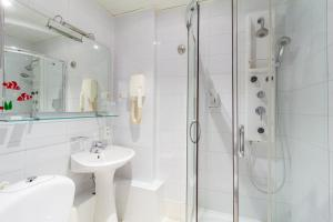 Ванная комната в Гостиница Экватор
