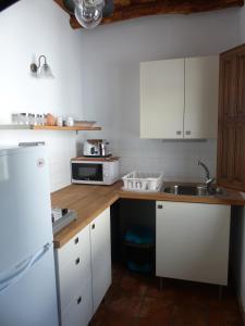 Una cocina o zona de cocina en Casita de la Vaca