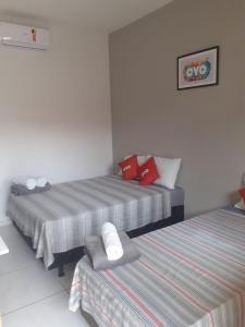 Cama o camas de una habitación en Pousada Havila