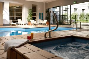 The swimming pool at or near Grand Hotel Melbourne