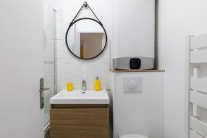 Salle de bains dans l'établissement DIFY City - Charpennes