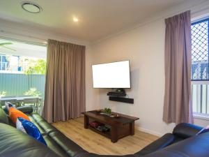 A television and/or entertainment center at Broadwater Paradise