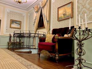 Гостиная зона в Boutique Hotel PORTUM 1905