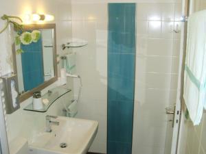 A bathroom at Hotel Garni Waldsegler
