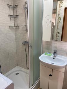 Ванная комната в Апаартаменты на Чайковского