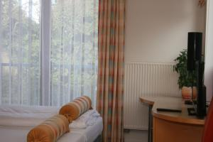 A seating area at Landhotel Rittmeister