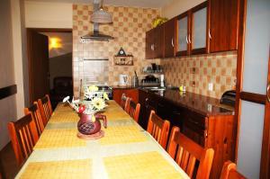 Kuchnia lub aneks kuchenny w obiekcie Pensjonat u Marysi