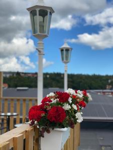 En balkong eller terrass på Strand City Hotel