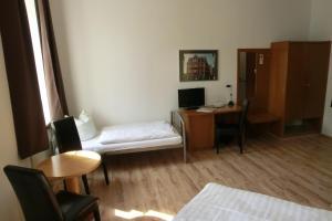 Гостиная зона в Pension Schweizer Hof