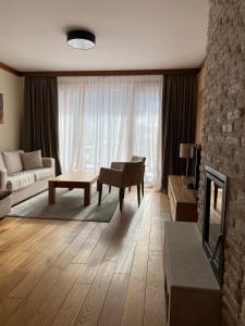Prostor za sedenje u objektu Vučko lux apartman B432