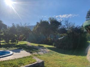 Un jardín fuera de misky wayra