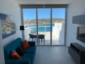 A view of the pool at Sea View Penthouse Mellieha Bay or nearby