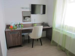 Kuhinja oz. manjša kuhinja v nastanitvi Villa Tollazzi