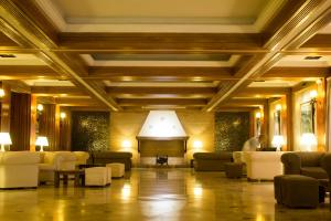 O saguão ou recepção de Hotel Fernando III