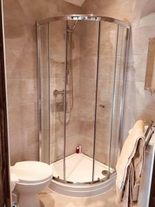 A bathroom at Brass Castle Country House Accommodation