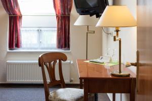 TV/Unterhaltungsangebot in der Unterkunft Hotel Schlossgarten