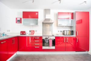 A kitchen or kitchenette at City Stay Apartments - Vizion