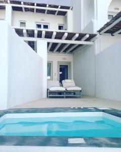 The swimming pool at or near Rocabella Santorini Hotel & Spa