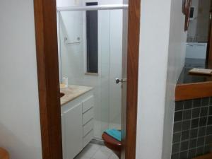 A bathroom at Apartamento Princesa Isabel